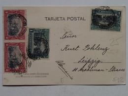 Chile 512 1 Centavo 2 Centavos Chile Correos 1810 1910 Lago Nahuelhuapi Ed. Roberto Wiederhold Valdivia No. 60 - Chili