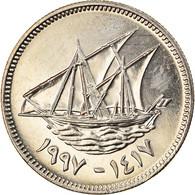 Monnaie, Kuwait, Jabir Ibn Ahmad, 20 Fils, 1997/AH1417, FDC, Copper-nickel - Kuwait
