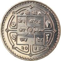 Monnaie, Népal, SHAH DYNASTY, Birendra Bir Bikram, 10 Rupee, 2014, Kathmandu - Nepal