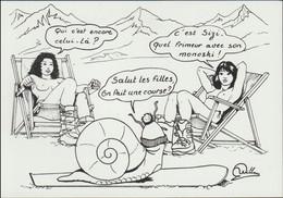 France Postcard 1992 Albertville Olympic Games - Mint (G124-72) - Winter 1992: Albertville