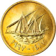 Monnaie, Kuwait, Jabir Ibn Ahmad, 5 Fils, 2007/AH1428, SPL+, Nickel-brass, KM:10 - Kuwait