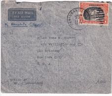 PHILIPPINES - 1939 - ENVELOPPE Par HONOLULU CLIPPER De CANLUBANG ! => NEW YORK - Philippinen