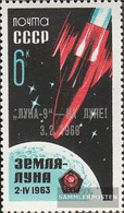 Soviet Union 3180 (complete Issue) Unmounted Mint / Never Hinged 1966 Luna 9 - Unused Stamps
