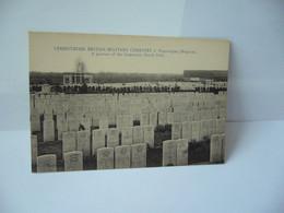 LYSSENTHOEK BRITISH MILITARY CEMETERY N' POPERINGHE  BELGIUM BELGIQUE FLANDRE OCCIDENTALE CPA - Poperinge