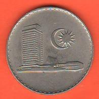 Malesia 50 Sen Malaysia 1973 Nickel Coin - Malaysia