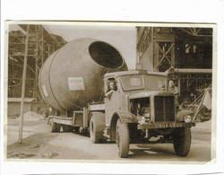 Ancienne Photocopie D'une Photo D'un Camion Et Ces Ouvriers : Année 1950 Entreprise LEVIVIER VALENCIENNES 59 ( NORD ) - Sin Clasificación