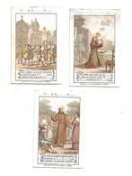 Lot De 3 Chromos Edition D'Aiguebelle - Vie De St Antoine De Padoue - Aiguebelle