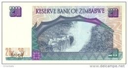 ZIMBABWE  P. 7 20 D 1997 UNC - Zimbabwe