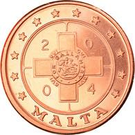 Monnaie, Malte, 2 Cents, 2004, Proof, FDC, Cuivre - Malta