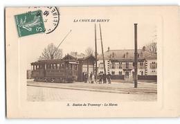 CPA 92 Antony Croix De Berny Station Du Tramway Le Haras - Antony