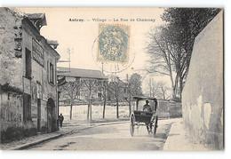 CPA 92 Antony Village La Rue De Chatenay - Antony
