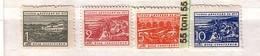 1950 EXPRES SERIE COMPLETE Yvert (expes) 24/27  4v.- MNH Bulgaria/ Bulgarie - Sellos De Servicio