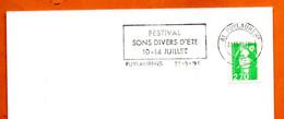 81 PUYLAURENS   SONS DIVERS  1996 Lettre Entière N° DE 723 - Sellados Mecánicos (Publicitario)