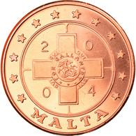Monnaie, Malte, 5 Cents, 2004, Proof, FDC, Cuivre - Malta