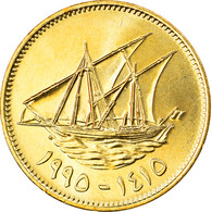 Monnaie, Kuwait, Jabir Ibn Ahmad, 10 Fils, 1995/AH1415, FDC, Nickel-brass, KM:11 - Kuwait