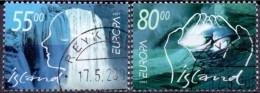 IJsland 2001 Europazegels GB-USED. - Gebraucht