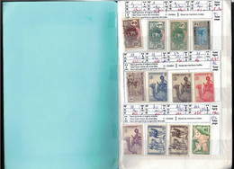 Deux Carnets MAURITANIE - Cote Yvert = 468 €uros - 18 Scans - Collezioni (in Album)