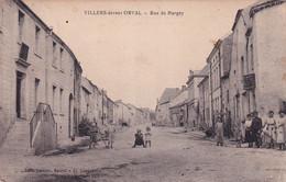 VILLERS DEVANT ORVAL / RUE DE MARGNY - Florenville