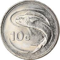 Monnaie, Malte, 10 Cents, 2005, SPL, Nickel - Malta