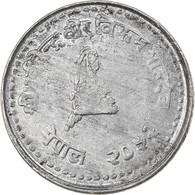 Monnaie, Népal, SHAH DYNASTY, Birendra Bir Bikram, 10 Paisa, 1997, TTB - Nepal