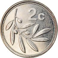 Monnaie, Malte, 2 Cents, 2004, SPL, Nickel - Malta