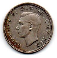 Grande Bretagne - Shilling 1945 TTB - I. 1 Shilling