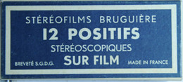 BRUGUIÈRE    STÉRÉOFILMS :   LE MONT ST-MICHEL  1 - Stereoscopes - Side-by-side Viewers