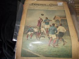 Domenica  Del  Corriere   CALCIO  1925  PARTITA  INTERNAZIONALE CON  ITALIA--RARA-- - Old Books