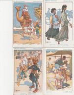 FRANCE CROQUIS D'ESCALE  MESSAGERIES MARITIMES    10 CARTES (4 CIRCULEES  1931)  CHINE,JAPON,SINGAPOUR... - Passagiersschepen