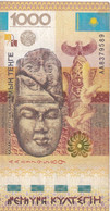 BILLETE DE KAZAJISTAN DE 1000 TEHTE DEL AÑO 2013 (BANKNOTE) Pintura Rupestre - Kazakhstan