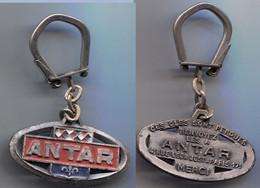 Porte-clefs Antar Ovale Horizontal Ex 1 - 4 Rue Léon Jost Paris 17e - Key-rings