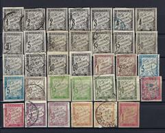 Französische Post Auf Kreta Lot Gestempelt/* - Used Stamps