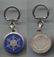Porte-clefs Augis Manufacture Blancomme Cristal De Neig - Key-rings