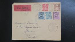 Lettre Mai 1929 Par Avion De Saigon Cochinchine Pour Hanoi Tonkin TB Affranchissement - Covers & Documents