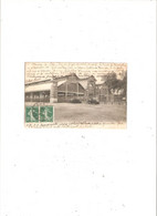 LILLE   L 'ABATTOIR ET LA HALLE AUX BOEUFS EN 1907 EDITEUR EC - Lille
