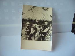 2. TCHAD FILLETTES N'GAMAS  AFRIQUE AFRICA AU VILLAGE DE MARO CPSM MISSIONNAIRES JESUITES AU TCHAD - Chad