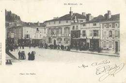 Saint Mihiel     Place Des Halles     Hotel Du Cygne    Ecrite En 1904 - Saint Mihiel