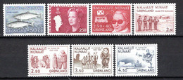 Groenland: 1983 - Jaargang Compleet Postfris / Complete MNH - Komplette Jahrgänge