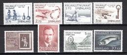 Groenland: 1984 - Jaargang Compleet Postfris / Complete MNH - Komplette Jahrgänge