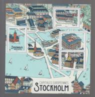 "FRANCE / 2021 / Y&T N° 5476/5479 ? ** En BF Ou  F5479 ** (Feuillet ""Capitales Européennes : Stockholm"") X 1 - Nuevos"