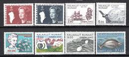 Groenland: 1985 - Jaargang Compleet Postfris / Complete MNH - Komplette Jahrgänge