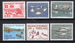 Groenland: 1986 - Jaargang Compleet Postfris / Complete MNH - Komplette Jahrgänge