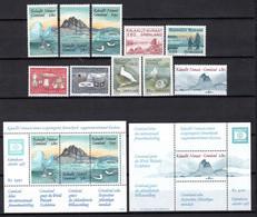 Groenland: 1987 - Jaargang Compleet Postfris / Complete MNH - Komplette Jahrgänge
