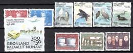 Groenland: 1988 - Jaargang Compleet Postfris / Complete MNH - Komplette Jahrgänge