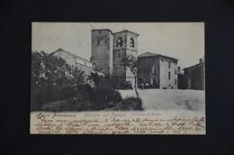 CARTOLINA MODENA MARANO SUL PANARO FRAZIONE DI FESTA VG 1904 TIMBRO ANNULLO ESAGONO GORZ GORIZIA - Modena