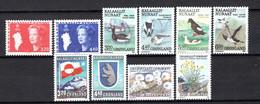 Groenland: 1989 - Jaargang Compleet Postfris / Complete MNH - Komplette Jahrgänge