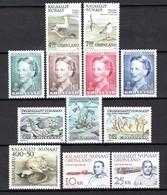 Groenland: 1990 - Jaargang Compleet Postfris / Complete MNH - Komplette Jahrgänge