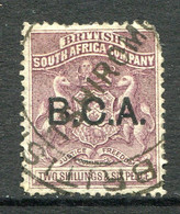 British Central Africa - Nyasaland 1891-95 2/6 Lilac Fiscally Used (SG 9a) - Nyassaland (1907-1953)