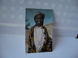 TCHAD AFRICA AFRIQUE LA PETITE FILLE DU SULTAN DE BINDER CPSM FORMAT CPA 1954 LA CARTE AFRICAINE PARIS - Chad