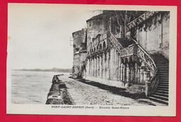 CARTOLINA NV FRANCIA - PONT SAINT ESPRIT - Escalier Saint Pierre - 9 X 14 - Pont-Saint-Esprit